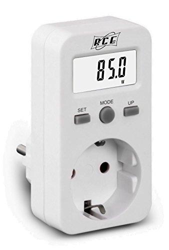 RCE PM220 Misuratore di Consumo, Bianco