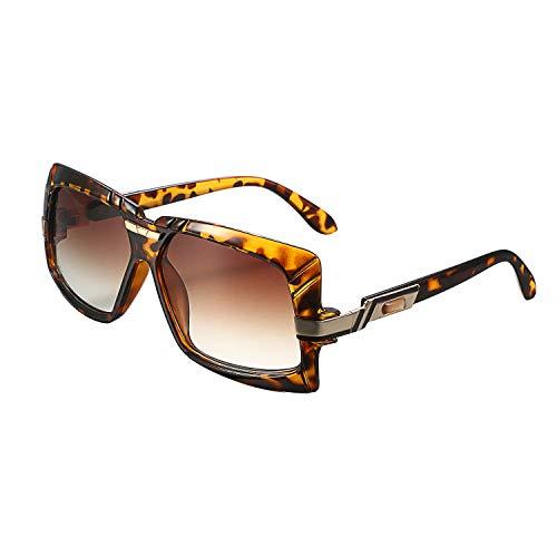 Aroncent Damen Outdoor-Sonnenbrille polarisiert UV 400 Groß Rahmen Farbe wählbar braun