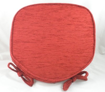 luxury-terracotta-chenille-seat-chair-pads-cushions-with-piped-edging