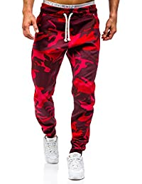 BOLF – Pantalons de sport – Jogging – Military – Sport – Training – Motif – ATHLETIC 0367 Homme