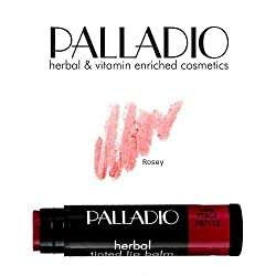 3 Pack , 03 Rosey : 3 Pack Palladio Beauty Tinted Lip Balm 03 Rosey