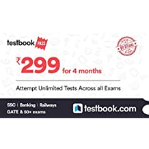Testbook.com Pass - 4 Months Subscription (Activation Key Card)