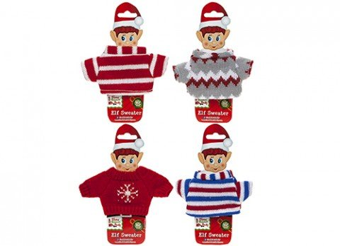 VIP Elf Jumper Sweater - VIP Elf Christmas Accessory Doll Clothing