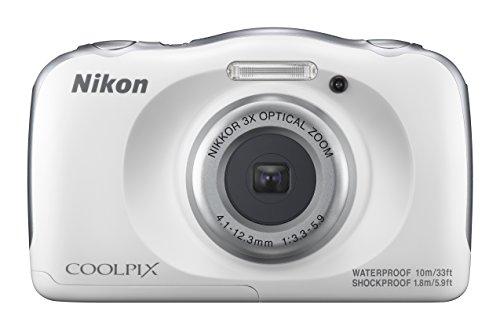 Nikon Coolpix W100 Camera (White)