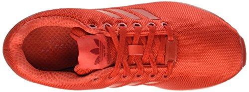 adidas ZX Flux, Scarpe da Corsa Unisex – Adulto Rosso (Red/Red/RedRed/Red/Red)