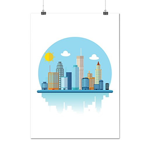 usa-urban-building-city-sydney-coast-matte-glossy-poster-a3-42cm-x-30cm-wellcoda