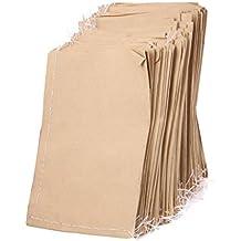 Aprox. 100piezas de papel Kraft bolsas de papel 9x 13cm