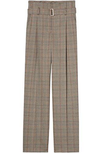 FIND Damen Hose mit Karomuster Mehrfarbig (Check)