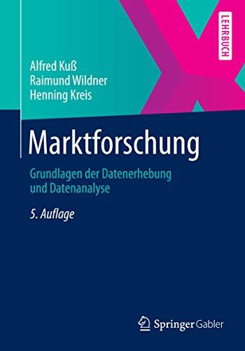 Marktforschung: Grundlagen der Datenerhebung und Datenanalyse