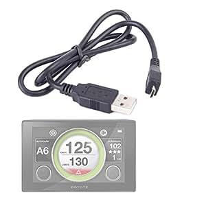 Cordon câble de synchronisation / charge pour GPS Coyote Assistant d'aide à la conduite
