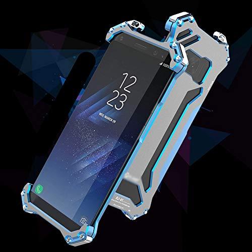 JKHOIUH Metallrahmen-Telefon-Verteidiger-Silikon-Abdeckungs-Telefon-Schutz-Hone-Fall für Samsung S8, S8 Plus Fallschutz und kollisionssichere Handy-Muschel für Samsung