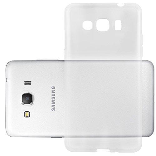 Preisvergleich Produktbild Cadorabo Silikon Hülle für Samsung Galaxy ACE 4 in Voll Transparent