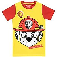 Paw Patrol - Camiseta para niño - La Patrulla Canina Marshall