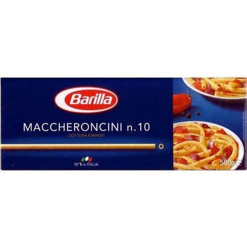 Barilla - Maccheroncini n.10 Maccharoni Nudeln Pasta - 500g