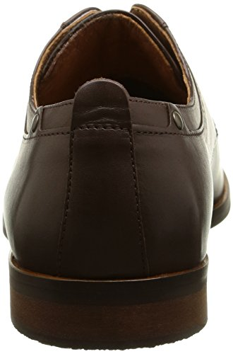 Schmoove Dirty Dandy Station, Chaussures lacées homme Marron (Crust Td Moro)