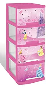 curver 194723 disney tour a4 4 x 10 l rose cuisine maison. Black Bedroom Furniture Sets. Home Design Ideas