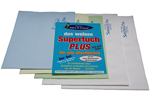 AQUA CLEAN Microfaser Supertuch Plus 5er Set