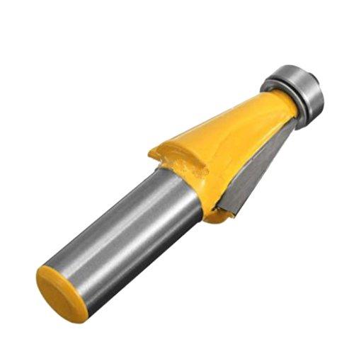 MagiDeal 1/2inch Schaft 15 Grad Fase Fräser Router Bit Holzbearbeitung Schneider Werkzeug Hartmetall -