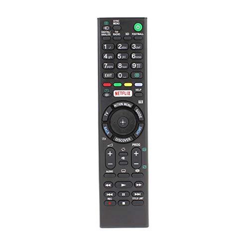 121AV RMT-TX100D Fernbedienung Ersetzt für Sony TV KDL-55W756C KDL-55W805C KD-65X8505C KD-65X8507C KD-65X8508C KD-65X8509C KD-65X9305C KDL-65W855C KD-75X8505C KDL-75W855C