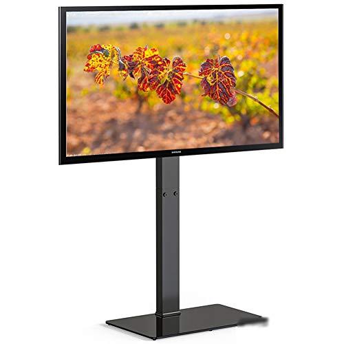 XUE TV Tragbar TV-Stand TV Cart Fußboden Fußboden Standfits32-50 Fernseher, Teleskopstange, höhenverstellbar für Innen- und Außenbereiche Verwendung Schlafzimmer. -