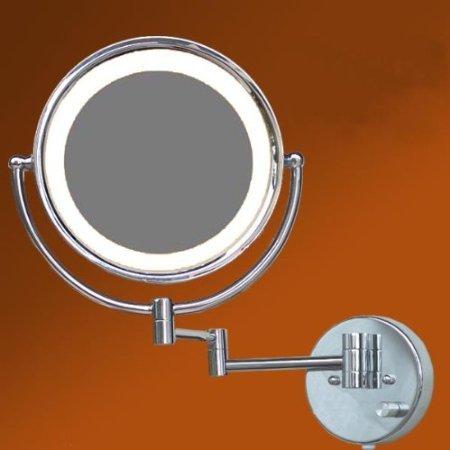 LOYWE LED Beleuchtet wunderschöne Kosmetikspiegel 1+10F hochwertig LWW57-10