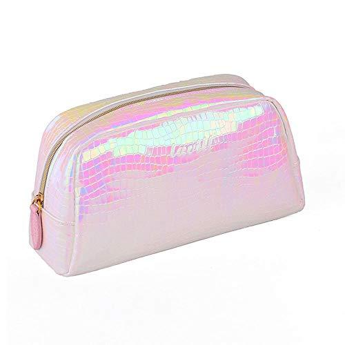 LYX Mode PU Schlangenhaut Farbe Laser Make-up Kosmetiktasche Wasserdichte Kosmetiktasche Kosmetische Aufbewahrungstasche Handtasche Tragbare Tägliche Aufbewahrungstasche