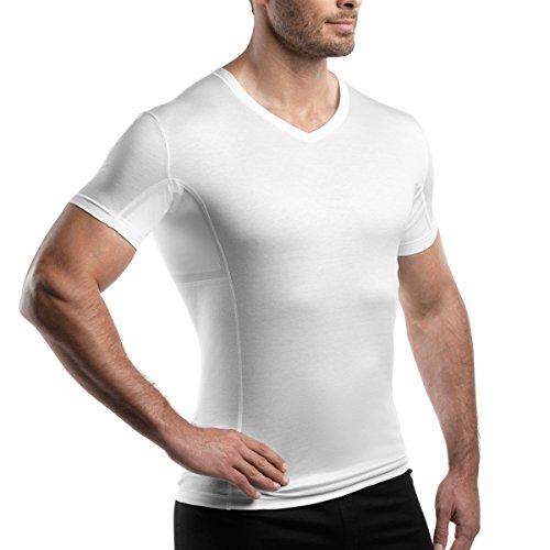 laulas Funktionsunterhemd gegen Achselschweiß - mit Innentaschen für Saugeinlagen - sofort schweißfleckenfrei - Schweizer Qualität