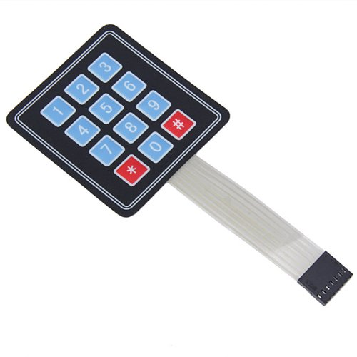Amazon.es - 3x4 Matrix Keypad Membrane Switch For Arduino 12 Keys