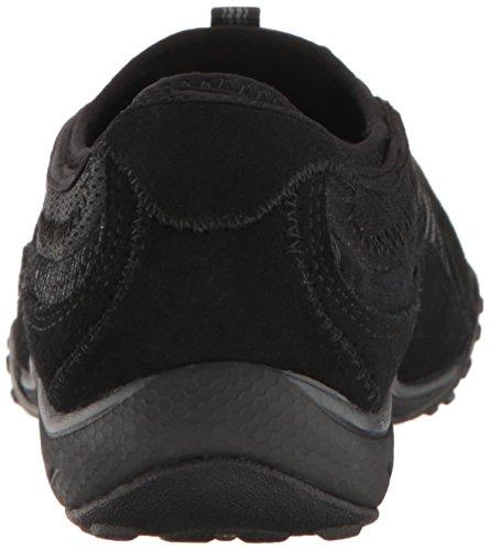 Skechers Damen Breathe Easy-Point Taken Sneaker Schwarz (Black)
