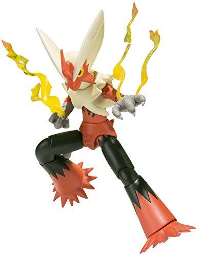 S.H. Figuarts Pokemon series Mega Blaziken about 130mm ABS & PVC painted action figure