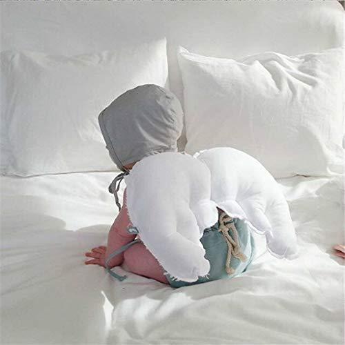 Dress Neugeborenen Kostüm Fancy - FLAMEER Neugeborenes Kleinkind Unter Dem Motto Fancy Dress Angel Wing Shower Party Kleidung Ornament - Weiß