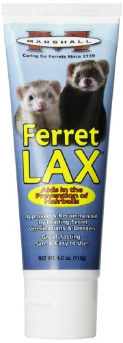 Marshall 4-Ounce Ferret Lax Hairball and Obstruction Remedy 1