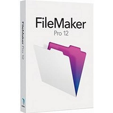 Filemaker Pro 12, 1u, DVD, Win, RTL, IT - Software de base de datos (1u, DVD, Win, RTL, IT, 1 usuario(s), 256 MB, 700 MHz, 1024x768px DVD-ROM,