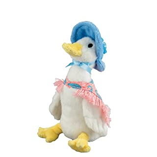 GUND Peter Rabbit Jemima Puddle Duck Plush Toy - Small