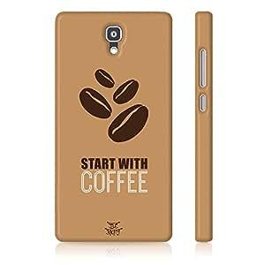 Be Awara Coffee Lover Back Case for Xiaomi Redmi 1S