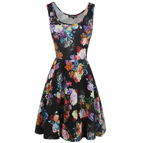 Spitze Kleid Kleid Maxi Kleider Yanhoo Frauen Ärmellos - Klassische Flapper Sexy Kostüme