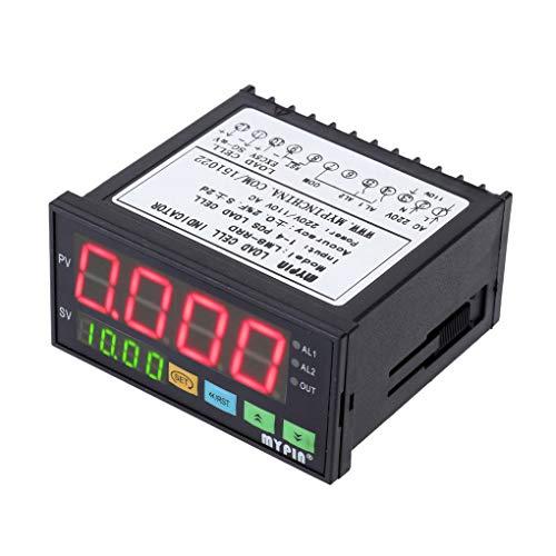 Zerama MyPin LM8-RRD Digital-wiegende-Controller LED-Anzeige Gewicht-Controller 1-4 Wägezelle Signale Eingang 2 Relaisausgang 4 - Digitale Anzeige-controller