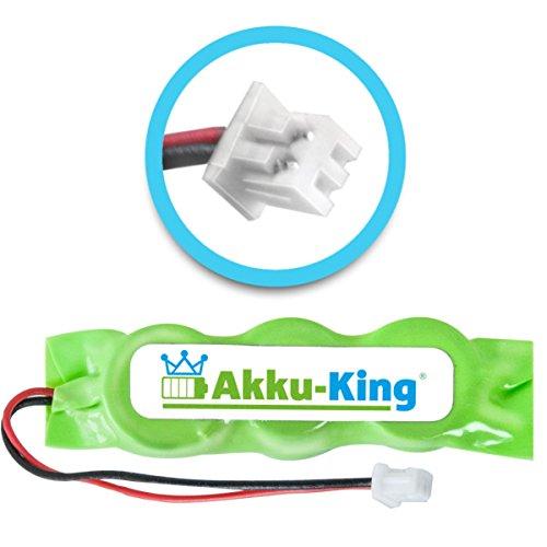 Akku-King Backup, CMOS Knopfzelle mit Stecker für Dell Inspiron 2100, 2800, 500M, 510M, 600M, 630M - ersetzt 3E158, 3R459 - Ni-MH 20mAh - Backup-batterie Hp Für Laptop