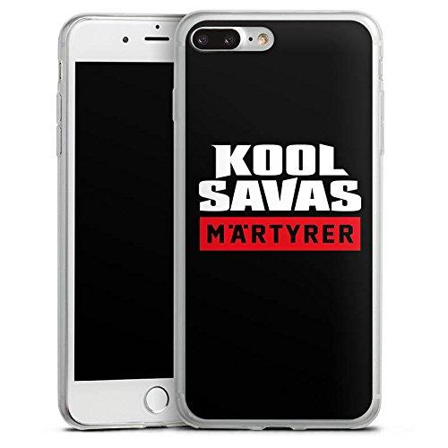 Apple iPhone 8 Slim Case Silikon Hülle Schutzhülle Kool Savas Fanartikel Merchandise Märtyrer Silikon Slim Case transparent