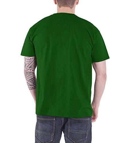 Breaking Bad T Shirt Vamanos Pest Nue offiziell Herren Grün Grün