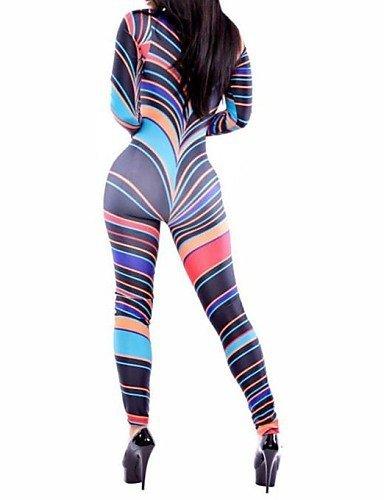 GSP-élégant afrique tribal moulante combinaison des femmes screen color-s