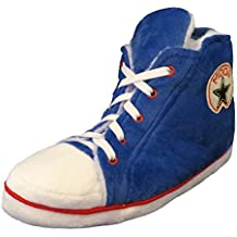 Mens And Womens ADULT SIZES Baseball Boot Novelty Slippers GREAT PRESENT IDEA
