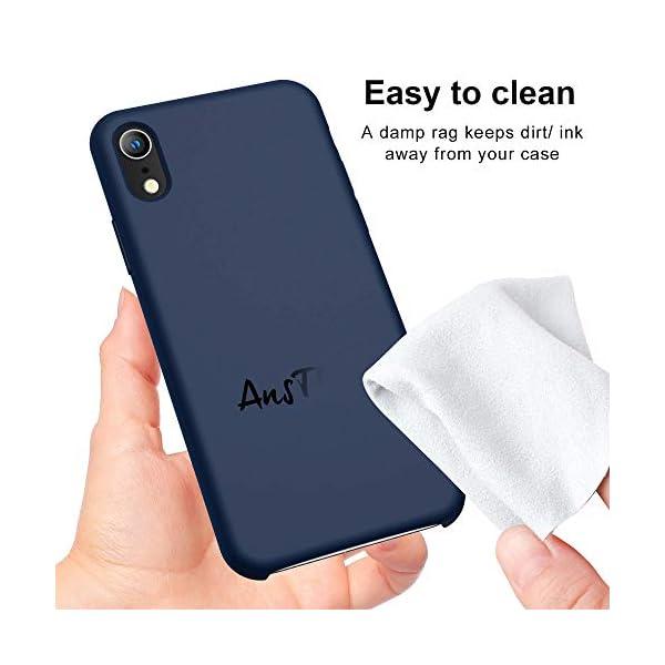 Oihxse Mate Líquido de Silicona Gel Funda - Compatible con Samsung Galaxy A50 Ultra Fina Suave Protección Carcasa… 2