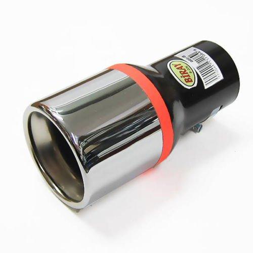 7'4 Runner (Autohobby 206 Auspuffblende Auspuff Universell Schalldampf Endrohr Blende Edelstahl bis 57mm Chrom A B C G H J CC 3 4 5 6 7)