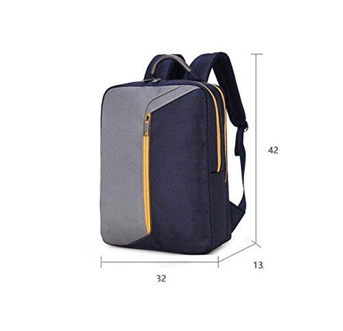 Männer Computer-Tasche 15-Zoll-Notebook-Business-Rucksack Student Tasche Reisetasche Multi