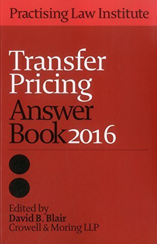 Transfer Pricing Answer Book 2016 (Volume 1) (2016-04-01)
