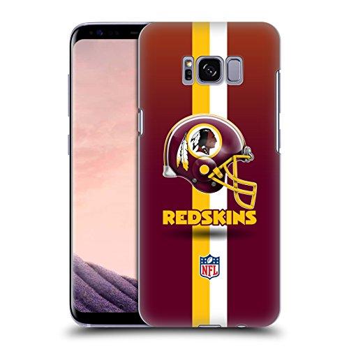 Offizielle NFL Helm Washington Redskins Logo Ruckseite Hülle für Samsung Galaxy S8 Washington Nationals Helm