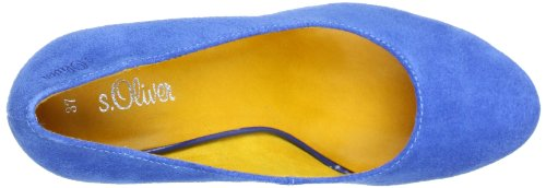 S.Oliver 5-5-22410-30, Escarpins femme Bleu (Royal 838)