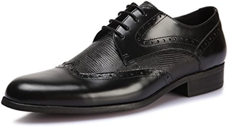 Taglio alla moda basso uomini scarpe Le scarpe scarpe scarpe a punta d'affari  inciso scarpe   Alta sicurezza  99d518