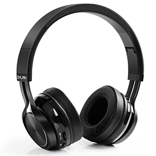 Cascos Bluetooth,LinkWitz Plegable Con Bluetooth 4.1 Micro Incorporado,Auriculares Inalámbricos Diadema Sonido Estéreo Compatible Con Iphone,Android,PC